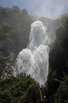 Cascada Velo de Novia (Bridal Veil Falls), Mexico  Brought to you by: www.PinterestBob.com