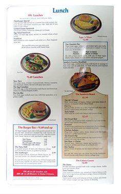 Fat Willy's Menu. Custom menu design from The Menu Maker ...