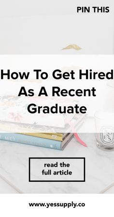 How To Get Hired As A Recent Graduate. Tips on how you can get a job, or a career you love when you are finished university or college