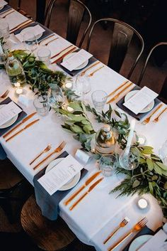 Gold Cutlery... real wedding hired from The Pretty Prop Shop,Auckland, New Zealand www.theprettypropshop.co.nz