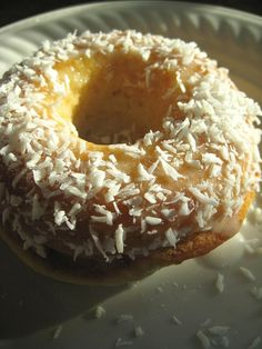 Coconut Donut. Can make in a muffin pan