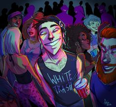 party trash by Fukari on DeviantArt