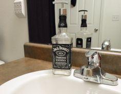 Soap Pumps for Liquor Bottles   ... Soap Dispenser Lotion Hand Sanitizer Upcycled Liquor Bottle Soap Pump