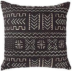 Rivet Mudcloth-Inspired Decorative Throw Pillow, x Onyx Black Personalized Pillows, Handmade Pillows, Arrow Nursery, Simple Bedroom Design, Diy Rustic Decor, Farmhouse Decor, Throw Pillow Covers, Pillow Inserts, Decorative Throw Pillows