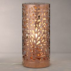 Buy John Lewis Destiny Touch Lamp, Copper Online at johnlewis.com £60