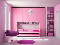 Teen Bedroom Designs, Room Ideas Bedroom, Small Room Bedroom, Home Decor Bedroom, Bed For Girls Room, Girl Room, Home Room Design, Kids Room Design, Cool Loft Beds