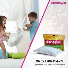 Springwel presents wide selection of branded pillows online. Our pillows are light weight, soft & durable that gives you a comfortable sleep. They increase upper body support as well as support the head and neck muscles most gently. We have neck pillow, memory foam pillow for remove neck, shoulders, hips, knees and ankles pain. To Know More Visit - http://www.springwel.in/67-springwel-all-pillows