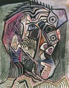 Galeria - auto retratos de Picasso através dos anos