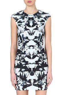 MCQ ALEXANDER MCQUEEN Hummingbird-print dress