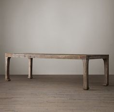 "17th C. Ming Dynasty Rectangular Dining Table 96 x 35½""W x 30½""H 108""L x 39½""W x 30½""H"