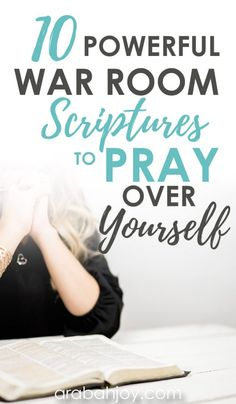 10 Powerful Scriptures for War Room Prayers + FREE Printable