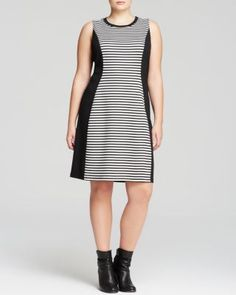 642925bd4f1 BB Dakota Plus Elin Pattern Block Shift Women - Plus - Dresses -  Bloomingdale s