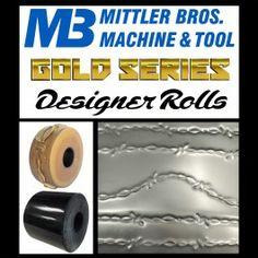 New Gold Series Designer Rolls, Barbed Wire Roll Set Sheet Metal Roller, Sheet Metal Tools, Metal Bender, Metal Working Tools, Barbed Wire, Machine Tools, Metal Fabrication, Rolls, Buns