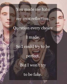 sleeping with sirens lyrics | Tumblr