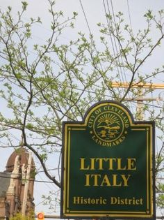 Historic Little Italy in Cleveland - Cleveland, OH