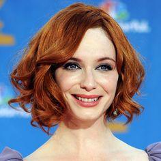 christina hendricks hair: love the color, love the cut
