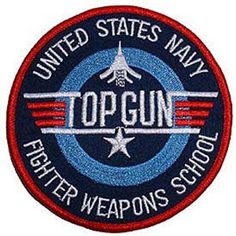 I grew up right next door (literally, in Mira Mesa) to N. Miramar when Top Gun was located there U. I grew up right next door (literally, in Mira Mesa) to N. Miramar when Top Gun was located there United States Navy, Top Gun Fancy Dress, Top Gun Costume, Tomcat F14, Sew On Badges, Navy Air Force, Cool Patches, Band Patches, Pin Up
