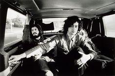 John Bonham, Jimmy Page and Robert Plant sleeping beauty.