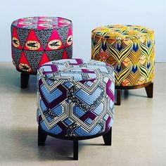 Beautify your apartment with African Prints - new blog post now on ⏩www.apif.rocks  Image @_3rdculture  #furniture #design #apartmentliving #apartmentdecor #ottoman #africanprint #prints #africanfabrics #newblogpost #apif #apifrocks