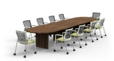 Cherryman Industries Oroblanco Side Chair and Amber Conference Table