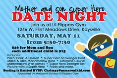 Mother and Son Super Hero Date Night : Macaroni Kid
