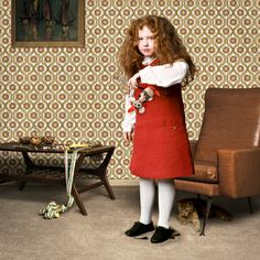 "Saatchi Art Artist Patricia Eichert; Photography, ""Red Haired Girl / Kids Series [#1], Edition of 12; 3 sold"" #art"