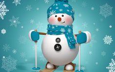 Artistic Snowman Wallpaper Happy Christmas Day Happy Holidays Merry Christmas Sms Christmas Quotes