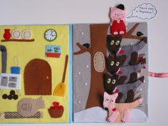 Sensory Book, Busy Book, Book Girl, Minion, Kindergarten, Kids Rugs, Activities, Christmas, Quiet Books