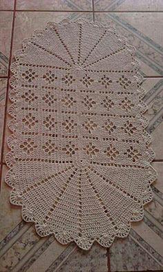 Crochet Table Mat, Crochet Table Runner Pattern, Crochet Mat, Crochet Carpet, Crochet Tablecloth, Crochet Squares, Filet Crochet, Crochet Doilies, Free Doily Patterns