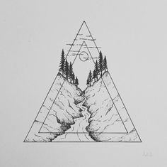 #Triangle #Angle #Illustration #Sketch Product design, Font, Black and white, Point - Photo by @ankatsom - Follow #extremegentleman for more pics like this!