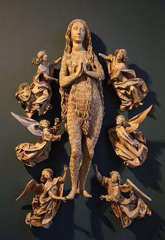 Tilman Riemenschneider Magdalena-2;Ascension of Mary Magdalene - Category:Tilman Riemenschneider - Wikimedia Commons
