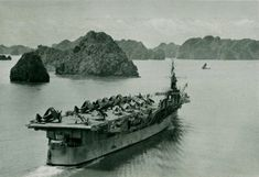 First Indochina War, Ha Long Bay, French Army, Aircraft Carrier, Vietnam, Military, Military Man, Army