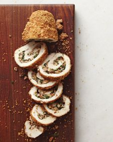 Read Whole Living's Walnut-Stuffed Chicken Roulades recipe. Also find healthy breakfast, lunch, snack, dinner & dessert recipes, plus heart healthy food & weight loss recipe ideas at WholeLiving.com.