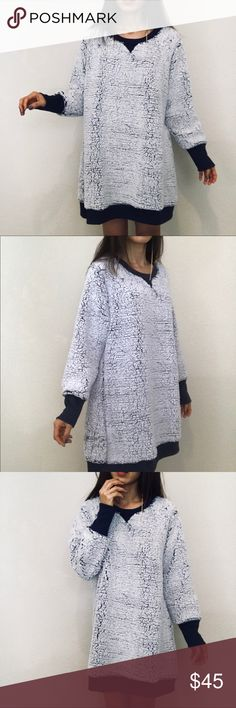 "Brand new warm cloudy sweater shirt Brand new  Size L XL available  Length 33"" Bust 44"" 46"" Very soft and light warm Sweaters"