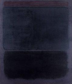Mark Rothko | Untitled, 1960 via coffee stained cashmere | indigo blue