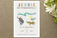 The Parade Children's Birthday Party by Cecile Pap... | Minted