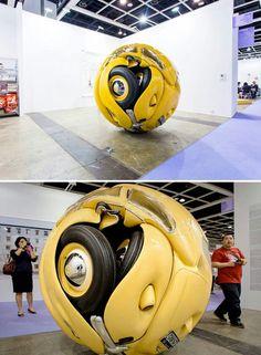 Bug Sculpture