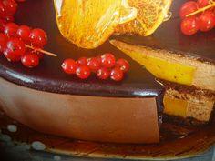 torta allo zabaione - con dolce mousse