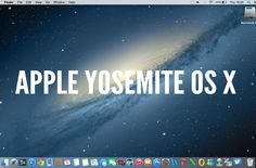 #Apple #OSX Yosemite review. Very comprehensive!