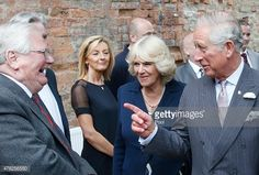 The couple met people involved in the restoration of the clutha barin glasgow