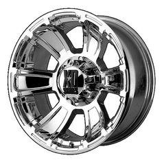 Kmc-xd Wheels KMC XD Series 796 Revolver Chrome bp b/s offset, Size: 20 inches X 10 inches, Mustang Wheels, Ford Mustang Car, Ford Mustangs, Truck Wheels, Wheels And Tires, Custom Wheels, Custom Cars, Muscle Car Rims, Camaro Car