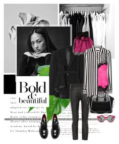 """Bold and beautiful....."" by pam0713 ❤ liked on Polyvore featuring TOMS, Theory, RED Valentino, Oak, Yves Saint Laurent, Givenchy, Magdalena, polyvorecommunity and polyvoreeditorial"