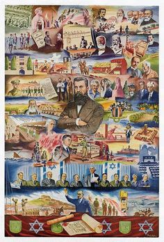The History of Zionism | The Palestine Poster Project Archives.  > > > There have been two great criminals in the history of the Jewish people - Hitler and Herzl - Rabbi Amnon Yitzhak. ...  > > >  Click image!