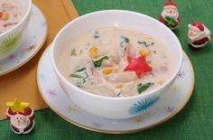 かぶの胡麻クリームスープ