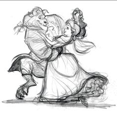 Beauty & the Beast concept sketch