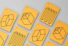 Picture of flyer designed by Moniker for the project Delve. Published on the Visual Journal in date 11 November 2015