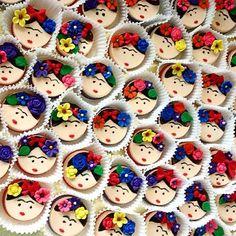 OK são galletas, não é cupcake nem pão de mel, mas como com os olhos