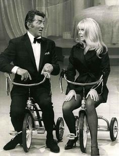 DEAN MARTIN and JOEY HEATHERTON, on The Dean Martin Show