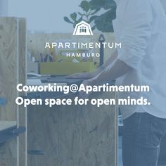 Apartimentum offers Coworking now. With a seating capacity of up to 30 our Open Space office close to the Alster is ideal for inspired and synergetic collaborations. Book your Coworking Space now