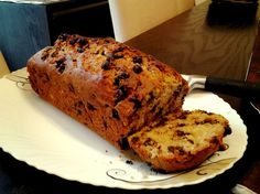 This is a wonderful sweet loaf and a great way to use up those brown mushy bananas. From Canadian Living. Can be frozen for up to 2 weeks